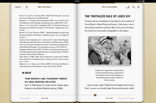Complex eBook design